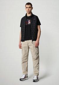 Napapijri - SILEA - T-shirt med print - black - 1