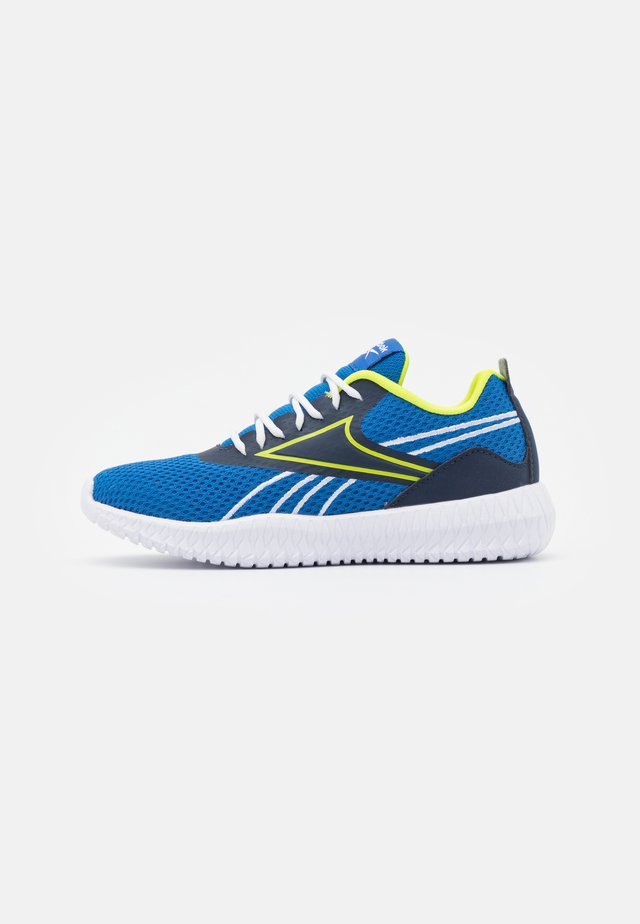 FLEXAGON ENERGY KIDS UNISEX - Scarpe da fitness - vector blue/vector navy/acid yellow