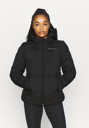 HOODED JACKET LEGACY - Veste de survêtement - black