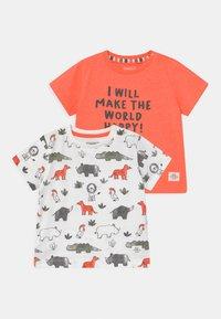Staccato - 2 PACK - T-shirt print - multi-coloured/orange - 0