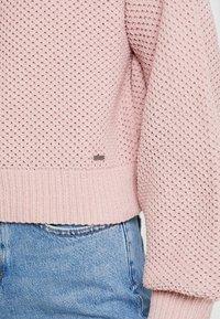 Hollister Co. - MATTE MOCK - Pullover - light pink - 4