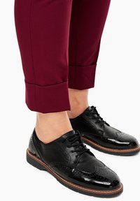 Triangle - BROEK - Trousers - dark pink - 4