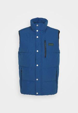 WOLFS HEAD GILE - Waistcoat - estate blue