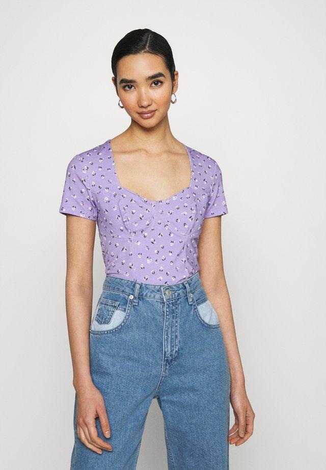 MINNIE - T-shirt imprimé - purple