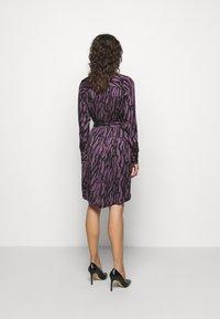Bruuns Bazaar - ZEBRA TREE AYAN DRESS - Day dress - purple - 2