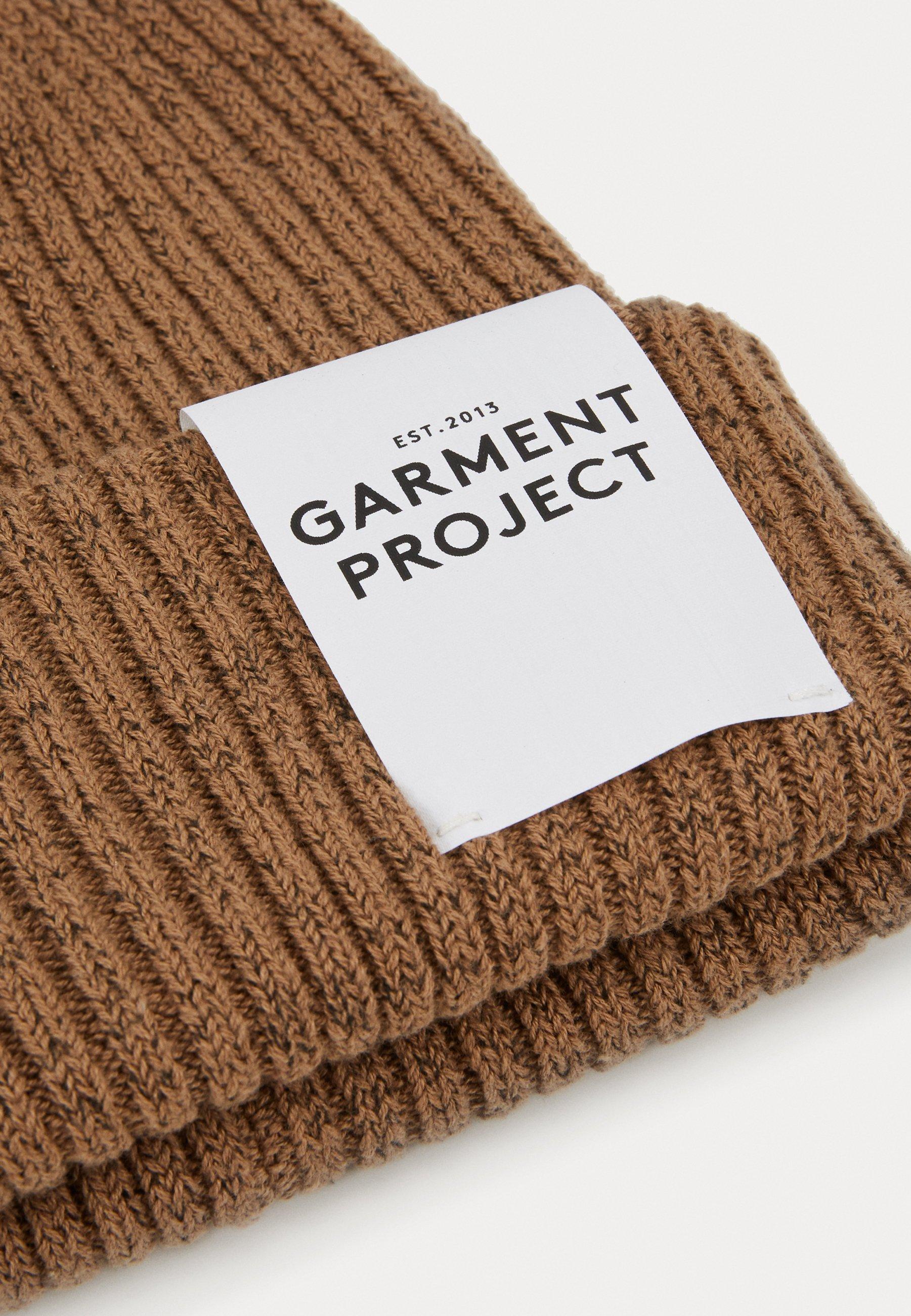 GARMENT PROJECT BEANIE - Lue - camel/kamel MIdnXxn47U95p60