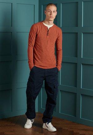 LEGACY  - Långärmad tröja - denim co rust