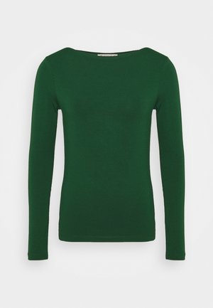 Topper langermet - dark green