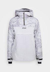 Oakley - ICE PULLOVER - Snowboard jacket - grey - 7