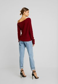 Even&Odd - Jumper - bordeaux - 2