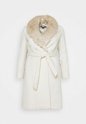 COAT - Classic coat - cream