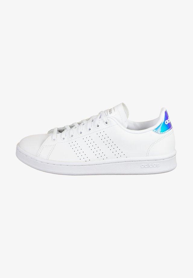 Sneakers laag - footwear white / silver metallic