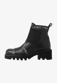 RAS - HIPER - Cowboy/biker ankle boot - tolled black - 1