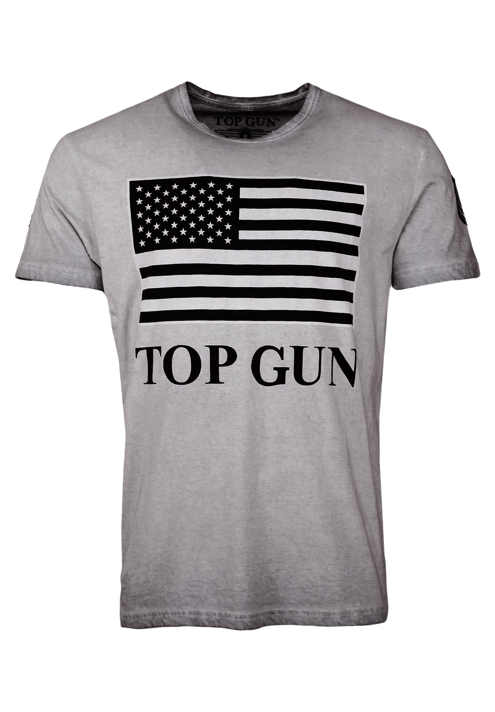 Herren MIT US-FLAGGE SEARCH - T-Shirt print