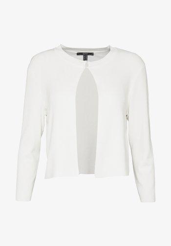ECOVERO BOLERO - Cardigan - off white