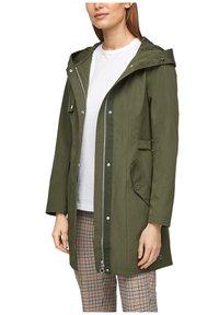 s.Oliver - MIT TAILLIERUNG - Short coat - khaki - 3