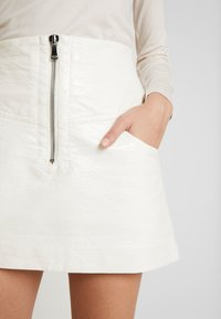 Bec & Bridge - WAX MINI SKIRT - A-line skirt - ivory - 3