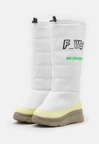 F_WD - Winter boots - black/parvel pink - 1