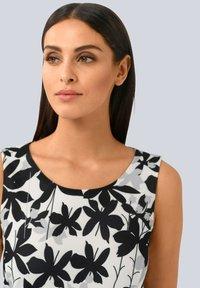 Alba Moda - Day dress - off-white grau schwarz - 2
