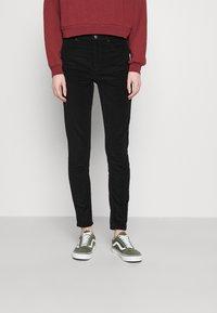 Topshop - JAMIE - Trousers - black - 0