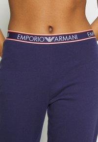 Emporio Armani - PANTS WITH CUFFSVISIBILITY ICONIC - Pyjama bottoms - indigo blue - 5