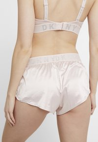 DKNY Intimates - TAP PANT - Pyjama bottoms - blossom/silver - 2