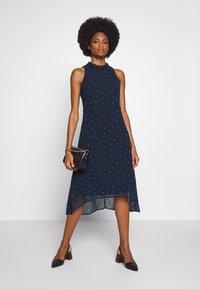 Esprit Collection - FLUENT GEORGE - Day dress - navy - 1