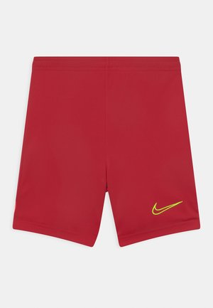 UNISEX - Short de sport - gym red/bright crimson/volt