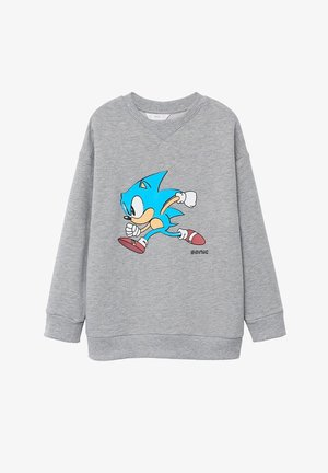 SONIC - Mikina - medium heather grey