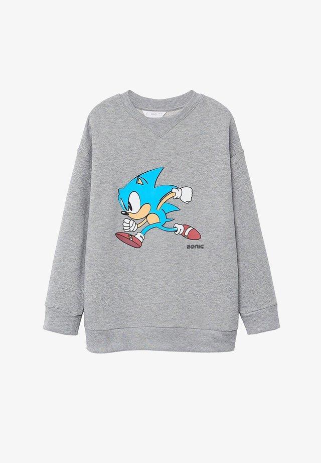 SONIC - Sweater - medium heather grey