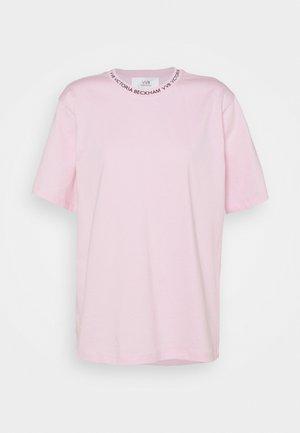 Print T-shirt - candy pink