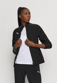 Puma - TEAMGOAL SIDELINE JACKET - Training jacket - black - 3