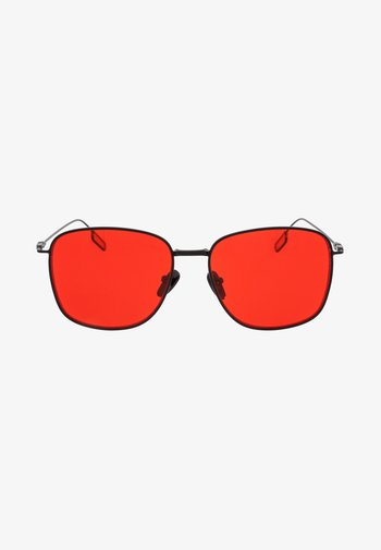 SPHINX - Sunglasses - matt black / red