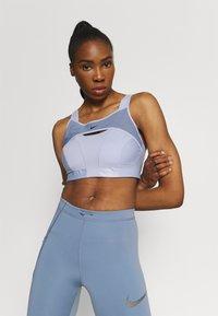 Nike Performance - ALPHA BRA - High support sports bra - ghost/ashen slate/black - 3