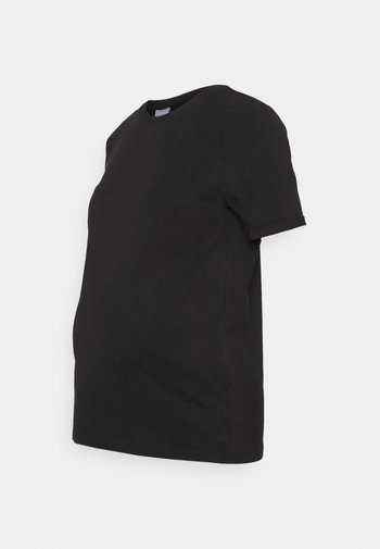 PCMRIA FOLD UP SOLID - T-shirt basic - black