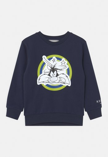 LOONEY TUNES GIROCOLLO - Sweatshirt - dark blue