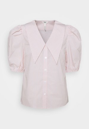 OBJMAHIN - Camisa - bright white/shrimp