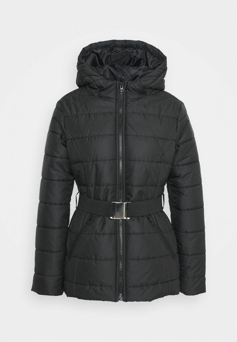 Trendyol - SIYAH - Winter jacket - black