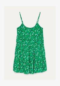 Bershka - Robe d'été - green - 4