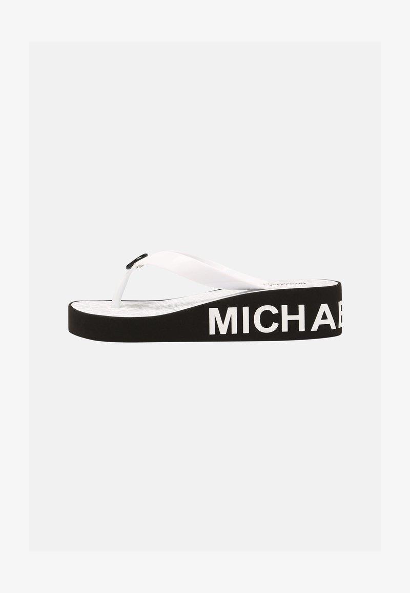 MICHAEL Michael Kors - GAGE ILIANA - Infradito - black/white