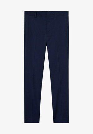 PAULO - Pantaloni eleganti - dunkles marineblau