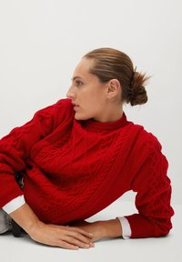 Mango - OVERALL - Jumper - rouge - 5