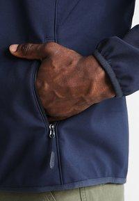 Jack Wolfskin - Soft shell jacket - night blue - 5