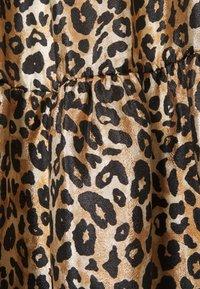 Cras - DRESS - Sukienka letnia - brown/black - 2