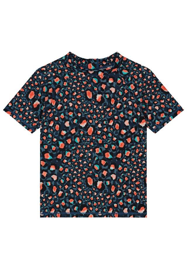 T-shirt de surf - poseidon blue