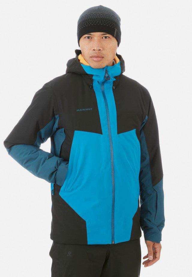 CASANNA - Snowboardjacke - sapphire/wing teal/black