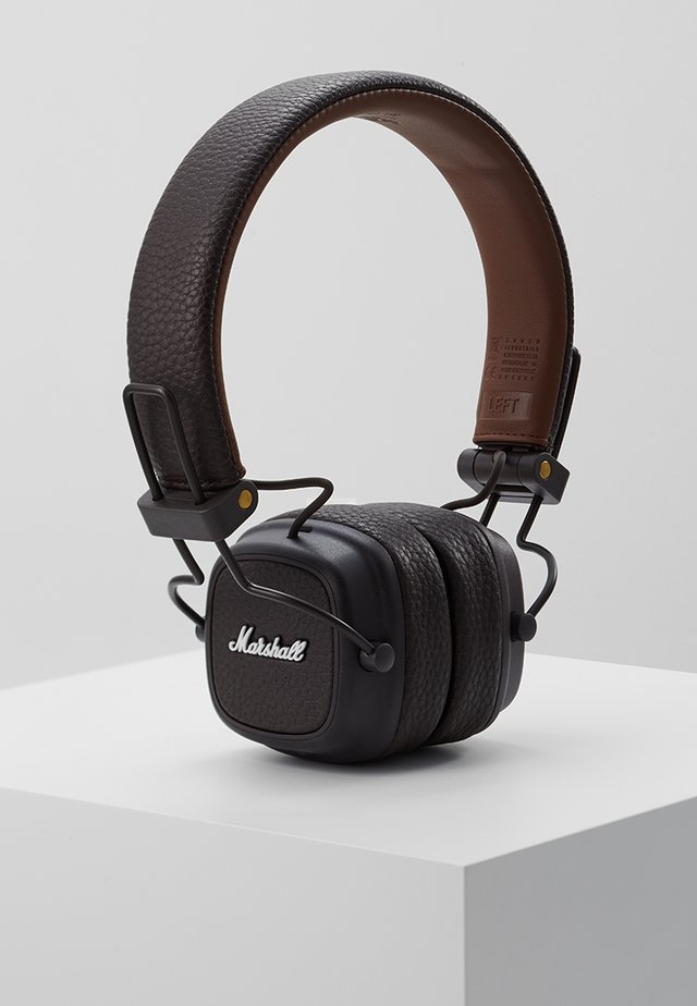 MAJOR III EIN-TASTEN-FERNBEDIENUNG MIT MIKROFON - Headphones - brown