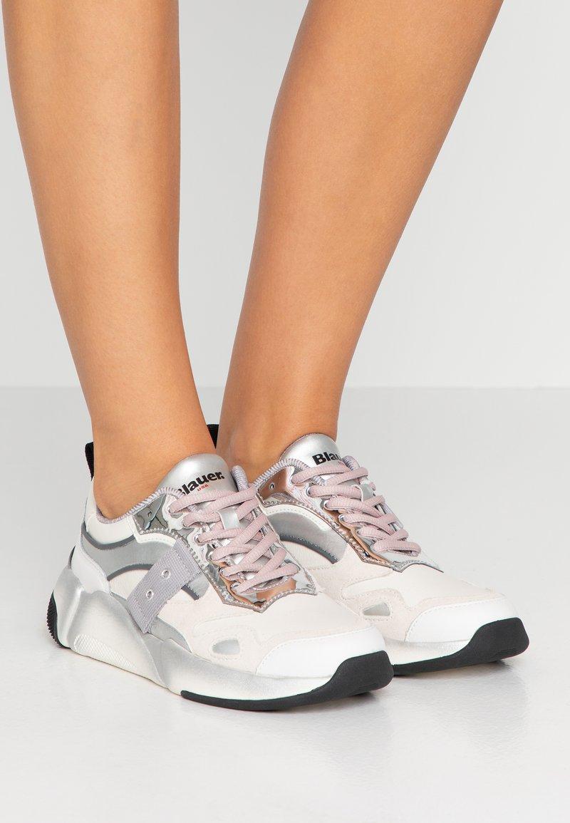 Blauer - Sneakers - white/silver