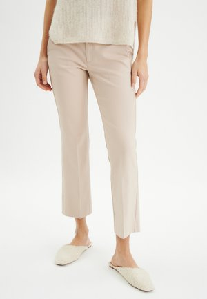 WIDE - Trousers - sandstone