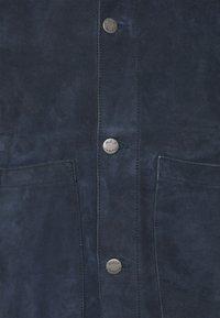 Nudie Jeans - DANTE - Leather jacket - navy - 2